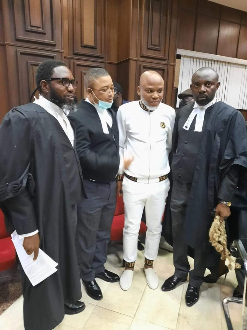 JUST IN: Kanu pleads not guilty to FG's amended charges